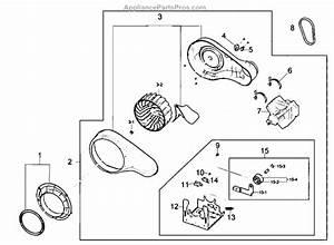 Parts For Samsung Dv210aew  Xaa  Motor Assy Parts
