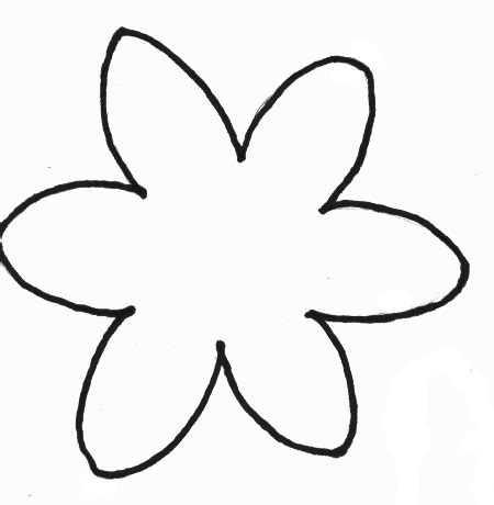 flowers crafts print  foam daffodil craft template
