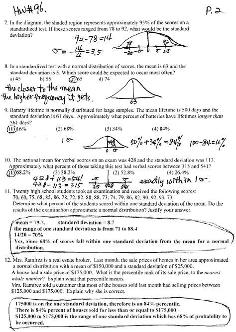 Worksheets On Standard Deviation  Worksheet Example