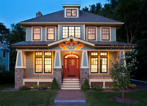 traditional craftsman homes modern bungalow craftsman exterior boston by