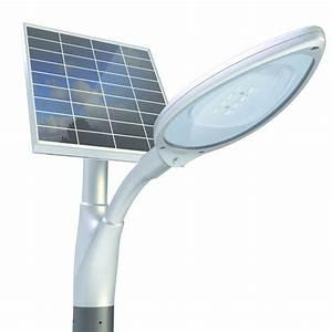 Prix D Un Panneau Solaire : lampadaire solaire leds lineo novea energies ~ Premium-room.com Idées de Décoration