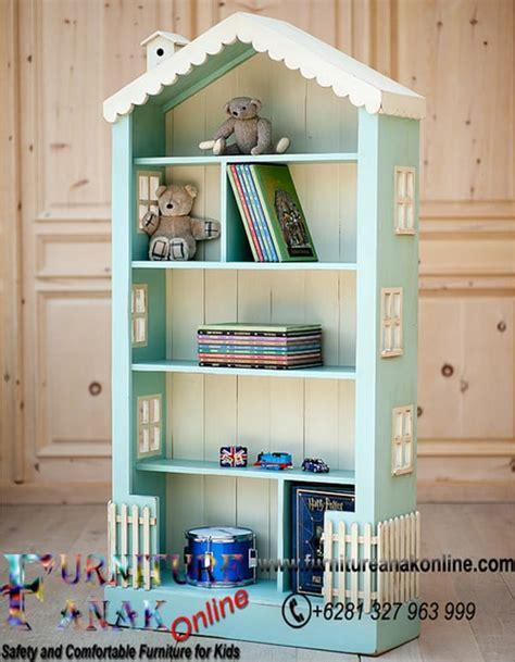 rak buku anak desain rumah