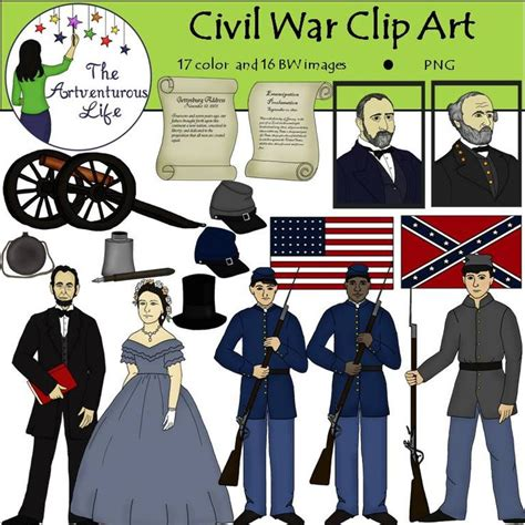 War Clipart Civil War Clip Civil Wars Clip And War