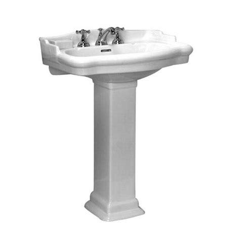 18 inch pedestal sink stanford white 4 inch spread pedestal sink barclay
