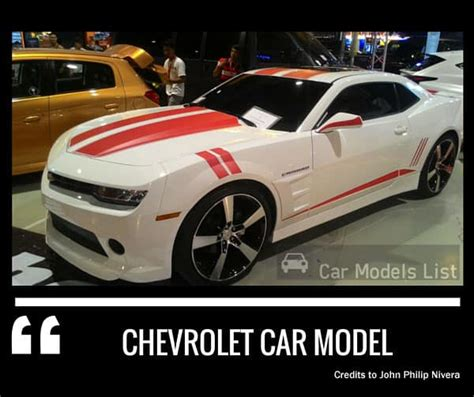 chevrolet cars list cars list of chevrolet models ranker autos post