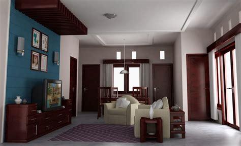 contoh gambar desain interior ruangan rumah sederhana dan