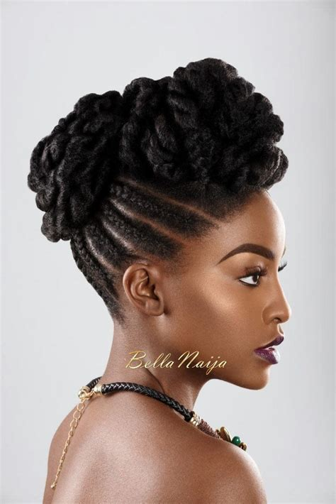 dionne smith natural hair inspiration bellanaija