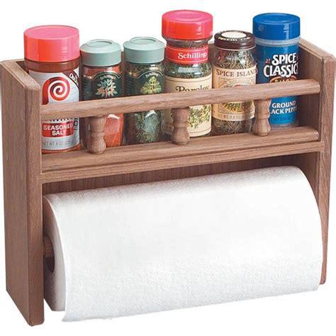 Spice Rack Paper Towel Holder by Whitecap Teak Spice Rack With Paper Towel Holder 62446