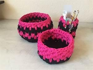 Corbeille Au Crochet : tuto panier corbeille au crochet youtube ~ Preciouscoupons.com Idées de Décoration