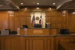 Courtroom Judges Bench