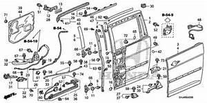31 Honda Odyssey Body Parts Diagram