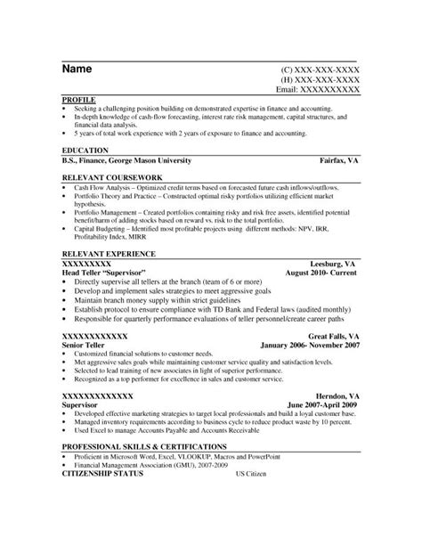 Credit Analyst Resume Objective Exles by Entry Level Resume Sles Resume Prime