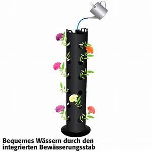 Pflanzkörbe Für Blumenzwiebeln : flower tower h ngend von g rtner p tschke ~ Lizthompson.info Haus und Dekorationen