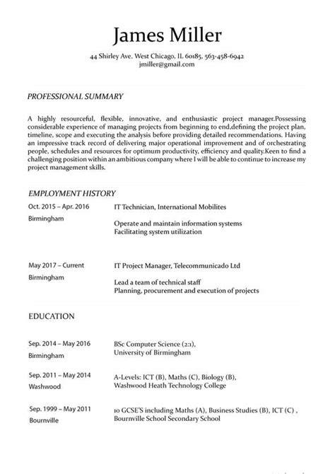 resume maker  create  perfect resume   minutes