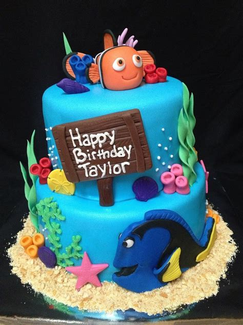 Under The Sea Decoration by Finding Nemo Birthday Cake Cakecentral Com