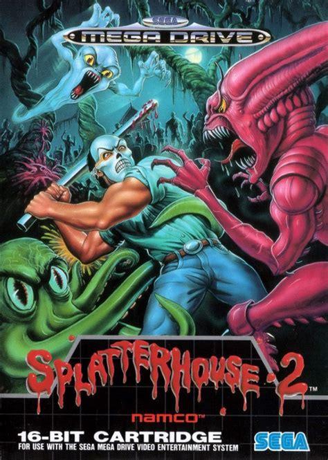 Splatterhouse 2 Cover Art By Derrickthebarbaric On Deviantart