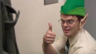 The Office Dwight Thumbs Up