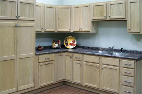 Unfinished Oak  Kitchen Cabinets  Surplus Warehouse
