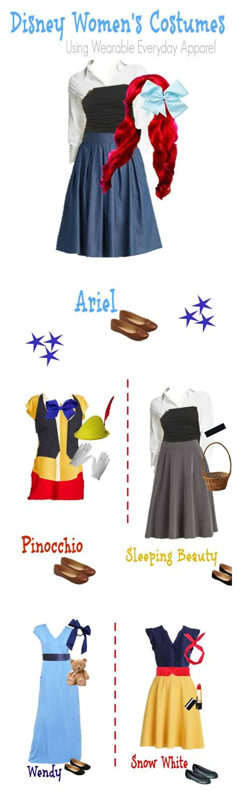 Costumes In Your Closet Ideas by Disney Costumes Using Items In Your Closet