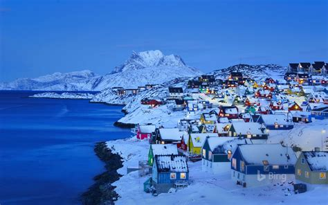 Old Nuuk In Nuuk Greenland 2019 Bing Wallpaper Preview