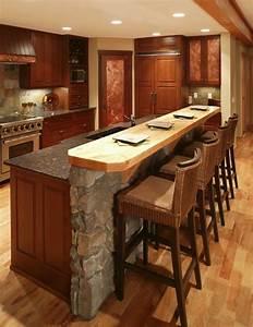 Küche Grau Holz : naturstein kueche kuechentresen holz theke e zum grau ~ Michelbontemps.com Haus und Dekorationen