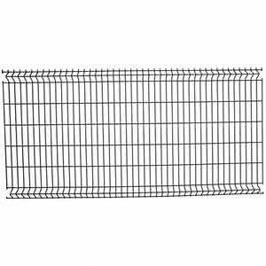 Grillage Rigide Gris Anthracite : panneaux grillage rigide gris grillage a poule hauteur 2m ~ Dailycaller-alerts.com Idées de Décoration