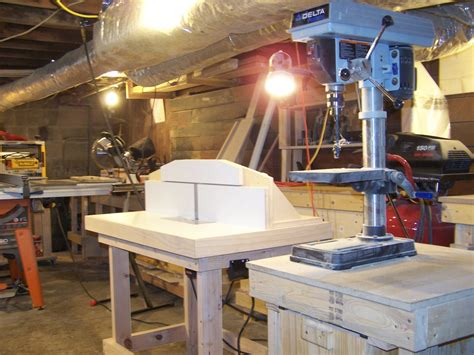 roberts basement workshop  wood whisperer