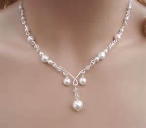 Elegant Pearl Wedding Jewelry Sets
