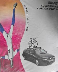 Seat Cordoba    Vario Accessories Manual 1990 U0026 39 S Listing In