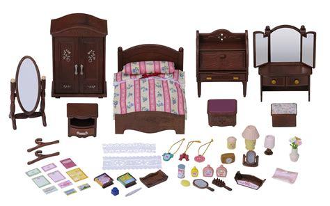 sylvanian families master bedroom sylvanian families 4701 luxury master bedroom furniture 17450 | 71Y0DhGUfIL