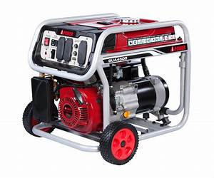 Generator 3500 Rated Power  4000 Max Power 120  240v Rated