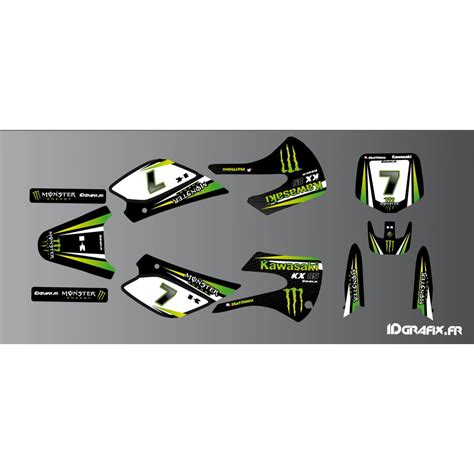 kit deco moto shop kit deco kawasaki racing kawasaki kx 65 kx 85 idgrafix
