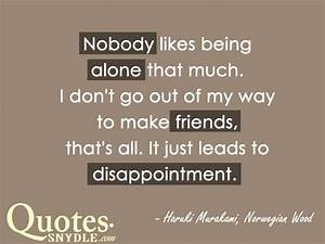 Sad Friendship Quotes And Sayings