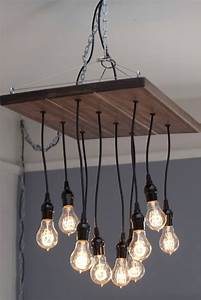 Occasional Carpenter  Edison Bulb Chandelier