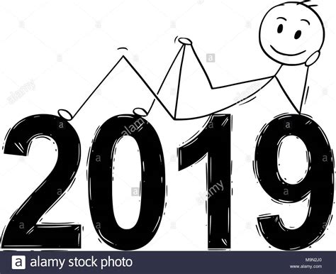 Year 2019 Black And White Stock Photos & Images