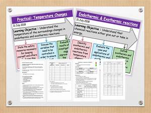 Endothermic And Exothermic Reaction Worksheet Answers Make