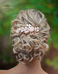 Rose Gold Bridal Hair Accessories