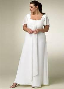 Wedding dresses for mature brides plus size styles of for Wedding dresses for older brides plus size
