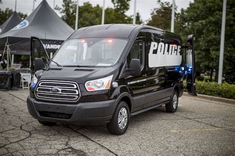 ford showcases  transits versatility  vandemonium