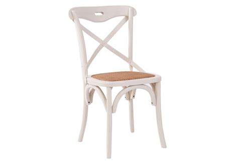 chaise de bistrot blanche chaise bistrot blanche vical home vical home 17911