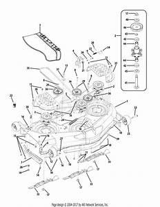 Troy Bilt 17bf2acp011 Mustang Xp  2010  Parts Diagram For
