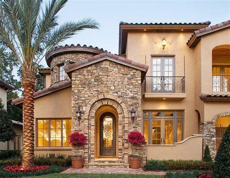 Entrance Mediterranean Villa ArchitectureIn