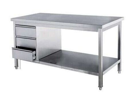 stainless steel kitchen island table the 25 best stainless steel work table ideas on 8256