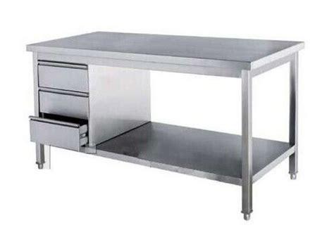 stainless steel kitchen island table best 25 steel table ideas on steel table legs