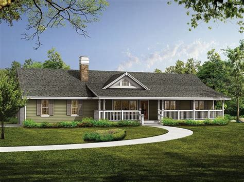 single house plans with wrap around porch luxury country ranch house plan house design and office