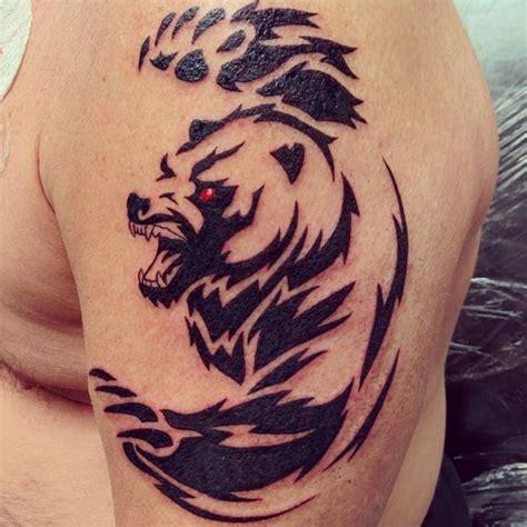 baer tattoo ideen bilder und bedeutung