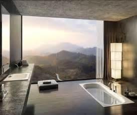 8 insane bath tubs with breathtaking views bathroom tv