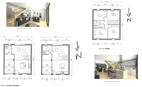 porte va et vient cuisine avis plan maison sur terrain 221 m2 314 messages