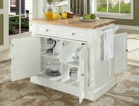 kitchen islands with butcher block top buy butcher block top kitchen island in white finish
