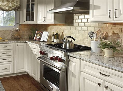 backsplash with white cabinets simple effective ideas in how to decorate kitchen my